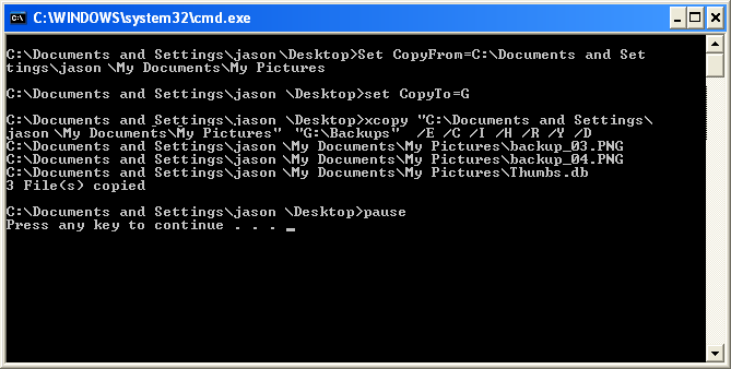 xcopy - is there a switch that disables confirmation for overwrite?